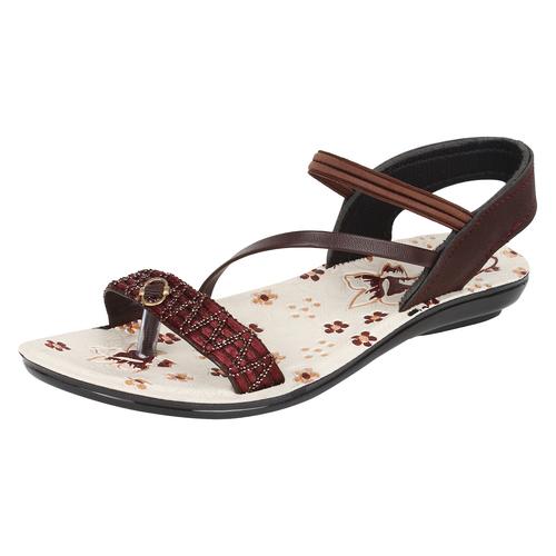 Sporter Ladies/Woman Brown-915 PU Sandals