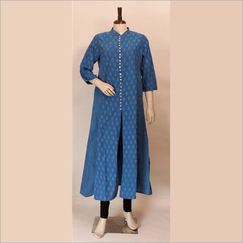 Ladies Block Printed Kurtis