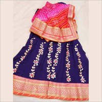 Ladies Heavy Gotta Patti Lehenga