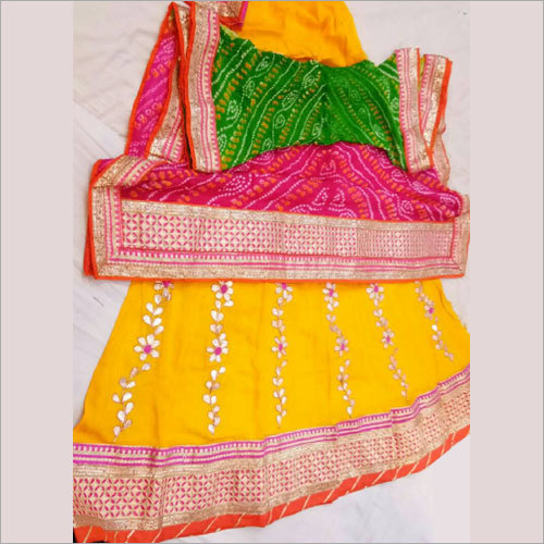 Ladies Heavy Gotta Patti Lehenga Choli