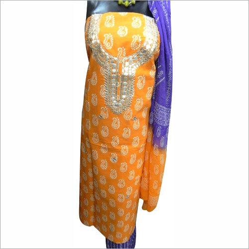 Ladies Designer Unstitched Suits