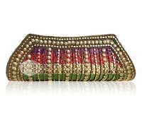 Embroidered Hand Clutch