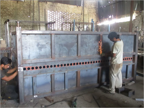 Different Sizes Glass Tempering Furnace Under Construction