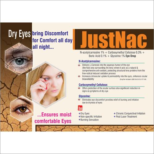 N Acetylcarnosine CMC Eye Drops