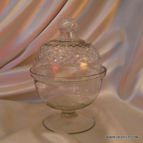Crystal Diamond Candle Cake Cover shape Jar lass Food Packaging Jar cream jar frosted colored