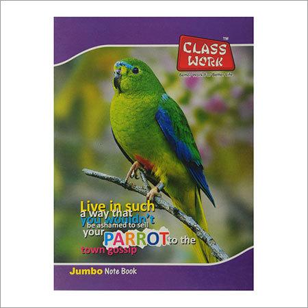 Jumbo Excercise Note Book