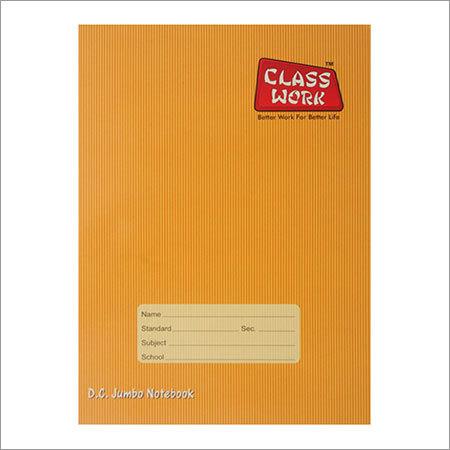 Brown Jumbo Note Book