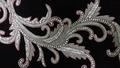 Wedding dresses crystal applique