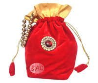 Traditional Velvet Potli Bag