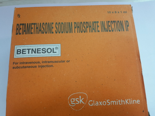 Betnesol Injection (Betamethasone Sodium Phosphate Injection IP)