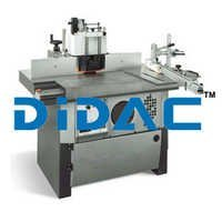 Spindle Moulder With Frontal Carriage On Prismatic Guides