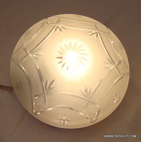 DESIGN GLASS CEILING LIGHT