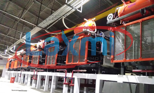 Automatic Eps Shape Moulding machine With vacuum