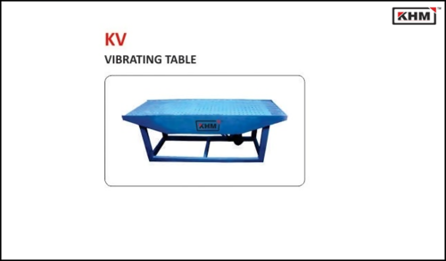 Vibrating Table for Paver Blocks