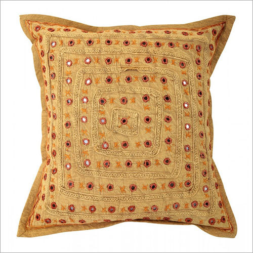 Brown Mirror Embroidered Decorative Sofa Bohemian Pillow Cushion Throw Cover 16