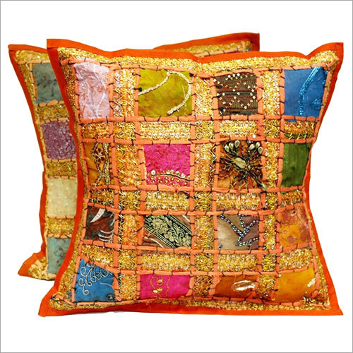 Embroidery Sequin Patchwork Cushion Covers