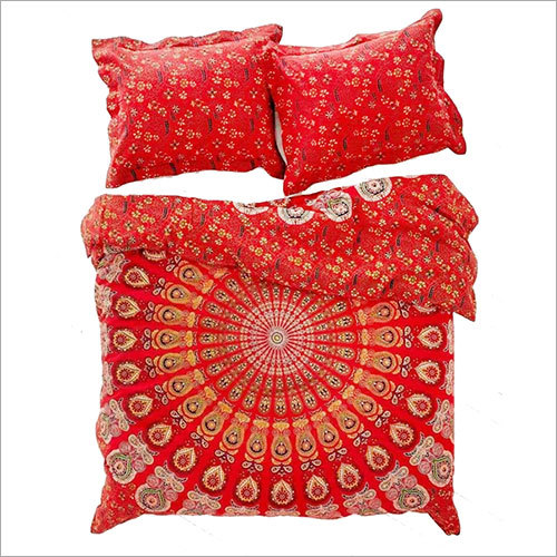 Indian Mandala Duvet Cover Queen size Blanket