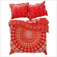 Indian Mandala Duvet Cover Queen size Blanket