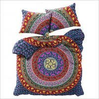 Exclusive Badmeri Mandala Duvet Cover With Pillowcases