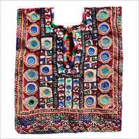 Indian Vintage Thread Embroidery Neck Yoke Ethnic Patch