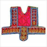 Indian Vintage Thread Beads Embroidery Neck Yoke Ethnic Patch