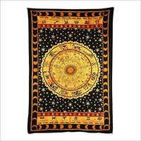 Zodiac Horoscope Tapestry Wall Hanging