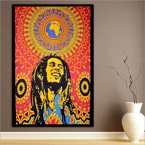 Bob Marley Tapestry Wall Hanging
