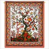 Tree Print Tapestry Bedsheet
