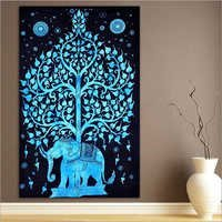 Tree Print Tapestry Wall Hanging