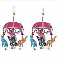 Elephants Wall Hanging Set