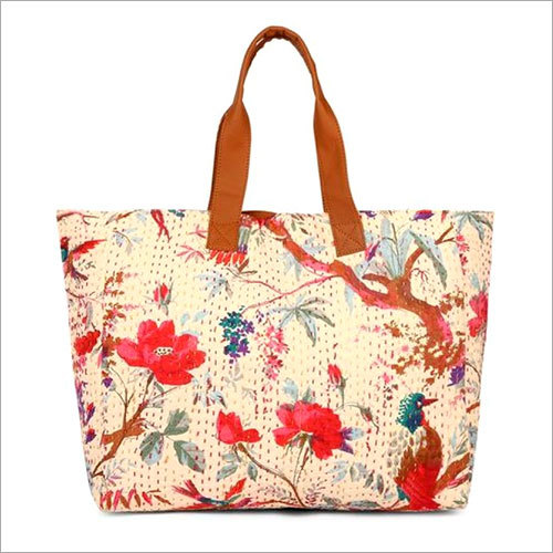 Kantha Embroidery Shoulder Bag
