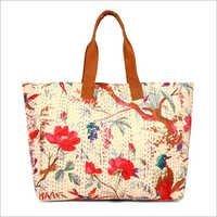 Kantha Embroidery Shoulder Bag