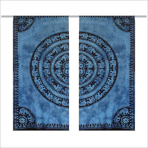 Elephanta Wall Hanging Window Curtain