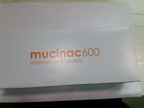 Mucinac 600 (effervescent Tablets)