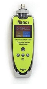 9071 Vibration Meter with External Accelerometer