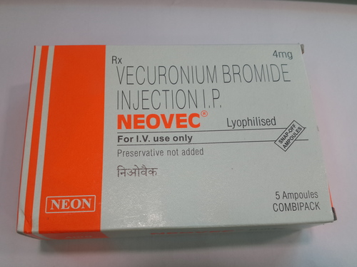 Neovec Injection ( Vecuronium Bromide Injection IP)