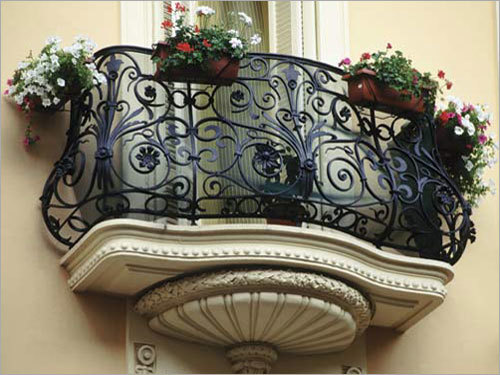 Designer Balcony Railings