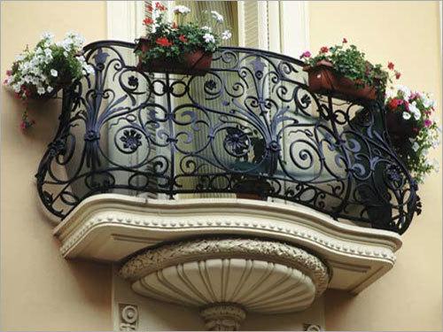 Designer Balcony Railings