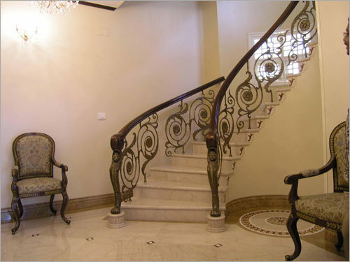 New Stairs Railing Designs