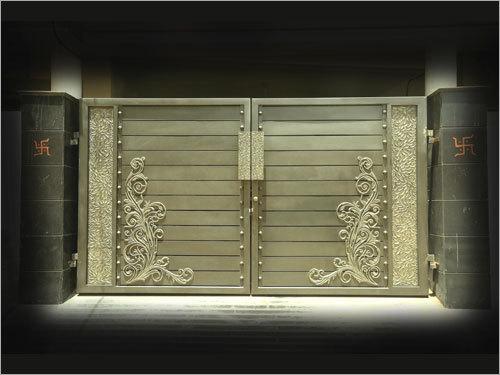 Metal Main Gates