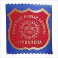 Textile Woven School Badges Label