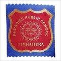 Textile Woven School Badges Label