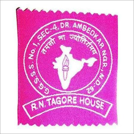 Textile Woven School Label