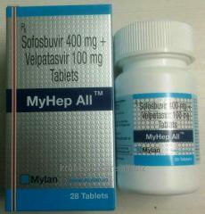 Myhep All (Sofosbuvir and Velpatasvir Tablets)