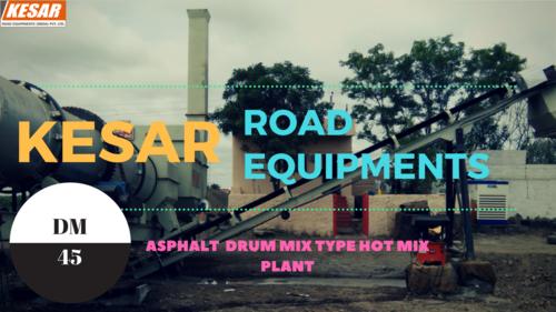 Stationary Asphalt Drum Mix Plant