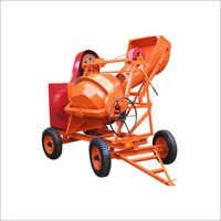 Concrete Mixer Machine With Hopper
