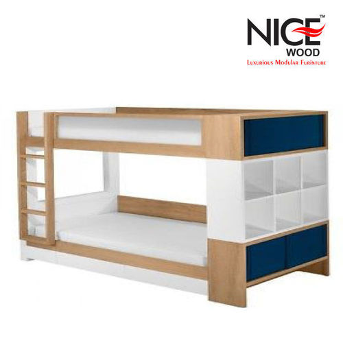 Double Decker Wooden Bed