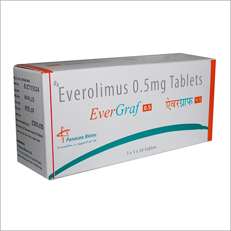 EVERGRAF 0.5 MG