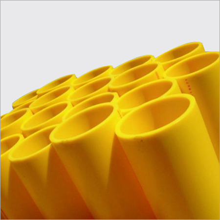 MDPE Yellow Pipe