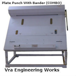 offset printing plate punch